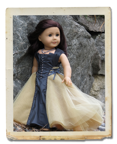 Cadewyn Dress 18 Inch Doll Clothes Pattern