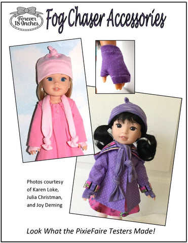 "Fog Chaser Accessories 14-14.5"" Doll Clothes Pattern"