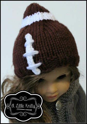 Game Day Football Hat Knitting Pattern