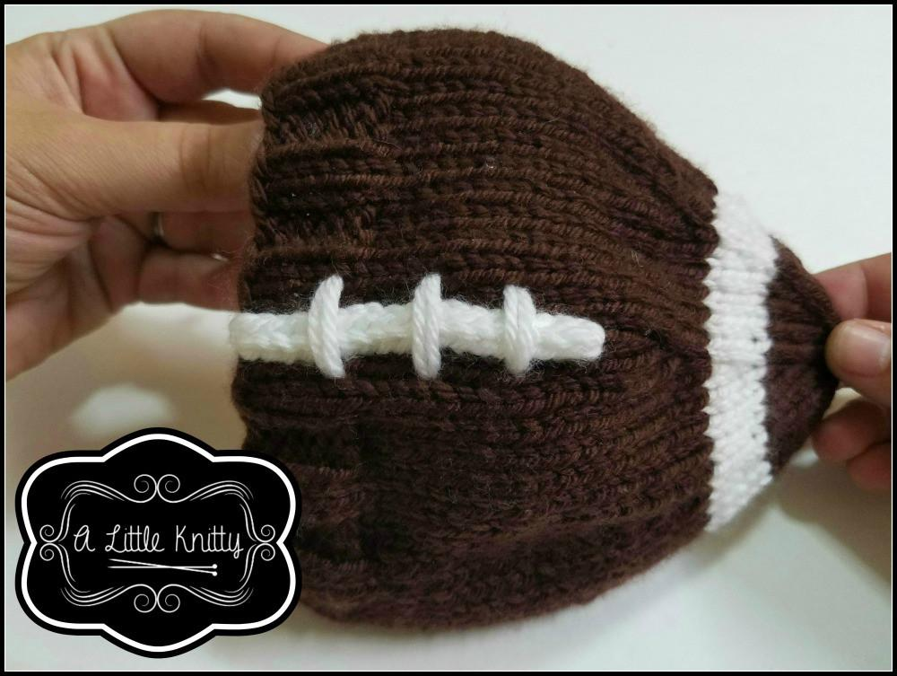 A Little Knitty Game Day Football Hat Doll Clothes Knitting Pattern ... 705020925