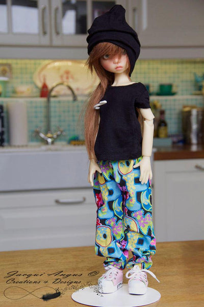 Jacqui Angus Creations Amp Designs Genie Pants Doll Clothes