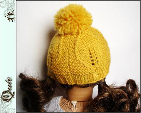 Goldie Hat Knitting Pattern