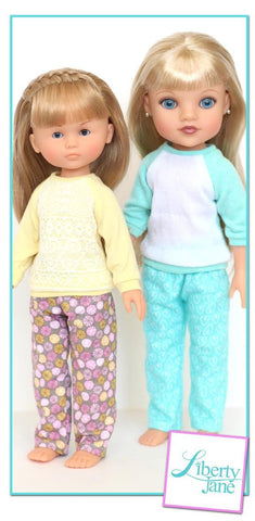 Piccadilly PJs for Les Cheries and Hearts For Hearts Girls Dolls