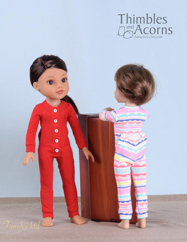 "Union Suit Pattern for 13-14"" Dolls"
