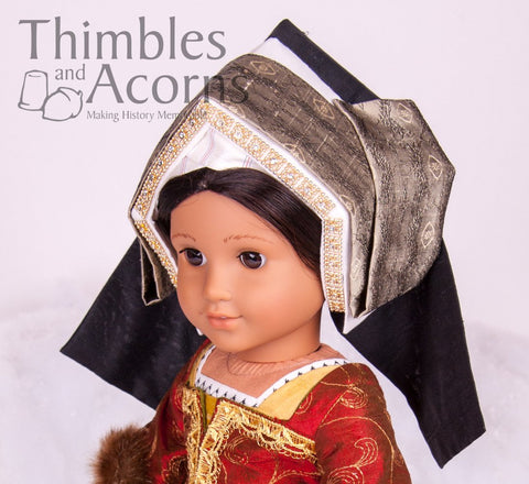 "Renaissance Faire Hampton Court Gown Bundle for 16"" and 18"" Dolls"