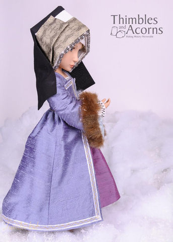 Renaissance Faire Hampton Court Gown for AGAT Dolls
