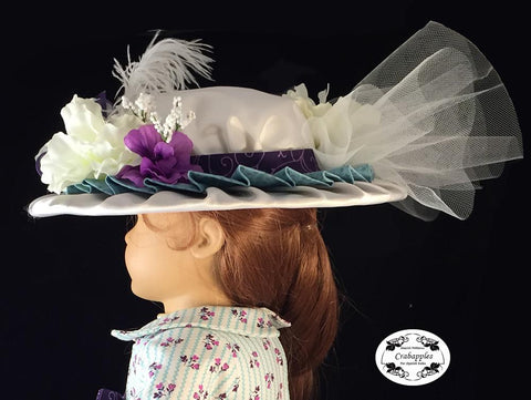 "Heirloom Hat 18"" Doll Accessory Pattern"