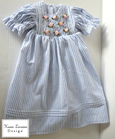 "Heirloom Entree 18"" Doll Clothes Pattern"