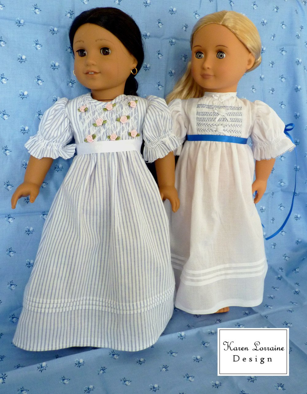 Heirloom Entree Doll Clothes Pattern for 18\