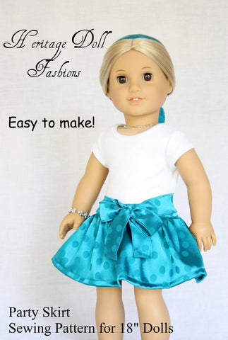"Party Skirt 18"" Doll Clothes"