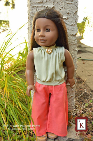 "High Neck Blouse 18"" Doll Clothes"