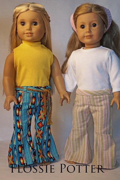 Flossie Potter Hip Hugger Bell Bottoms Doll Clothes