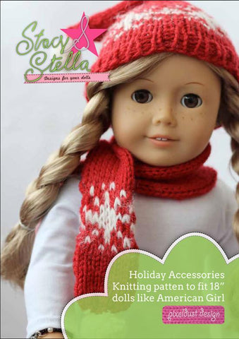 Holiday Accessories Knitting Pattern