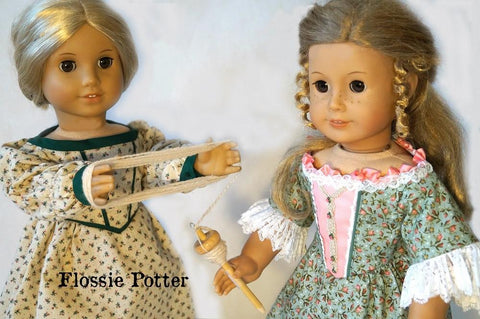 "18th & 19th Century Homespun Handicrafts 18"" Doll Accessory Pattern"