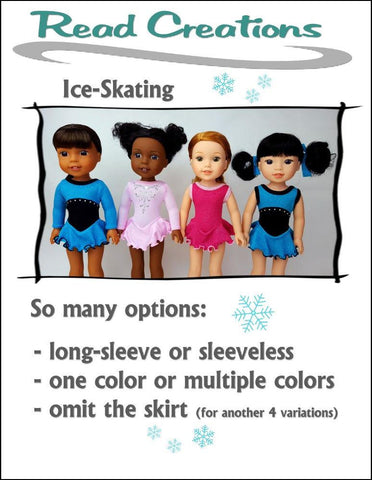 Ice-Skating Leo for WellieWishers Dolls