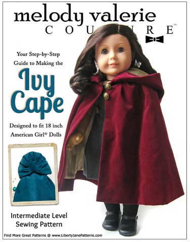 "Ivy Cape 18"" Doll Clothes"