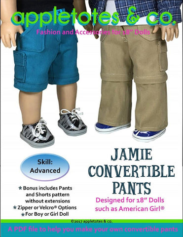 18 inch Boy Doll Pants Pattern Appletotes Co