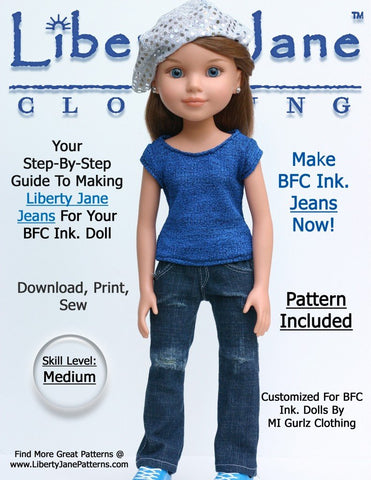 Jeans for BFC, Ink Dolls