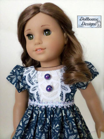 "Juliette Party Dress 18"" Doll Clothes Pattern"