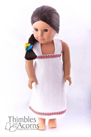 "Wrapped Kalasaris Dress 16"" and 18"" Doll Clothes"