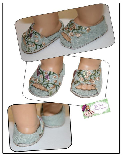 Petite Cherie Couture Kara Shoes Doll Clothes Pattern