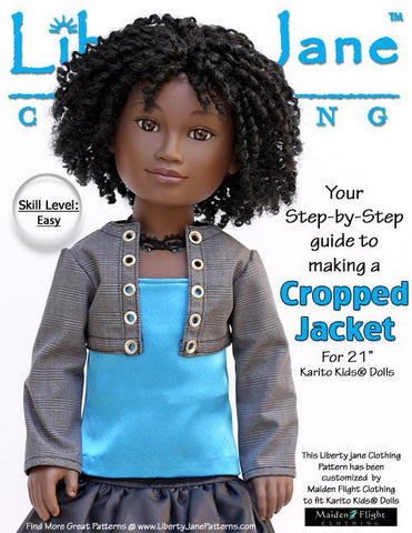 Cropped Jacket Karito Kids Dolls