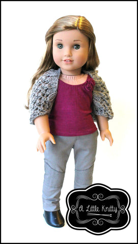 Katelyn Shrug Knitting Pattern