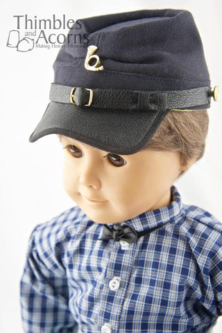 "Civil War Kepi Hat 18"" Doll Accessories"