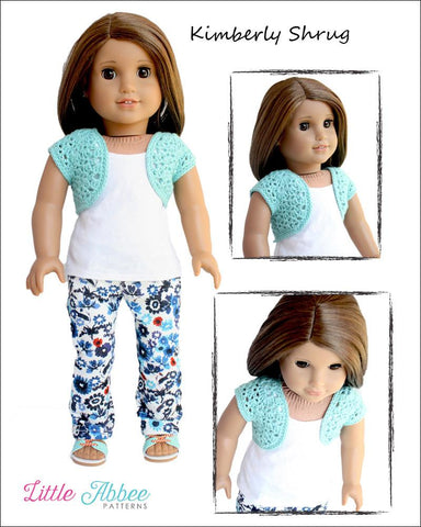Kimberly Shrug Crochet Pattern