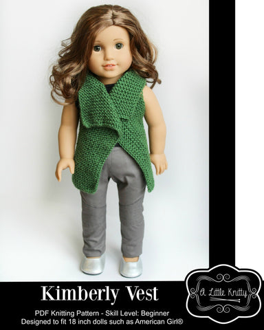 Kimberly Vest Knitting Pattern