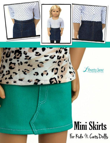 Mini Skirt Pattern for Kidz N Cats Dolls