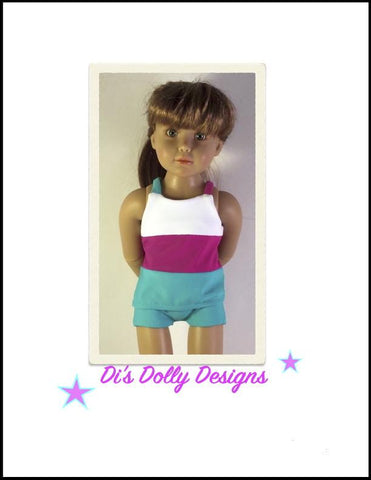 Seashore Swimsuit for Kidz N Cats Dolls