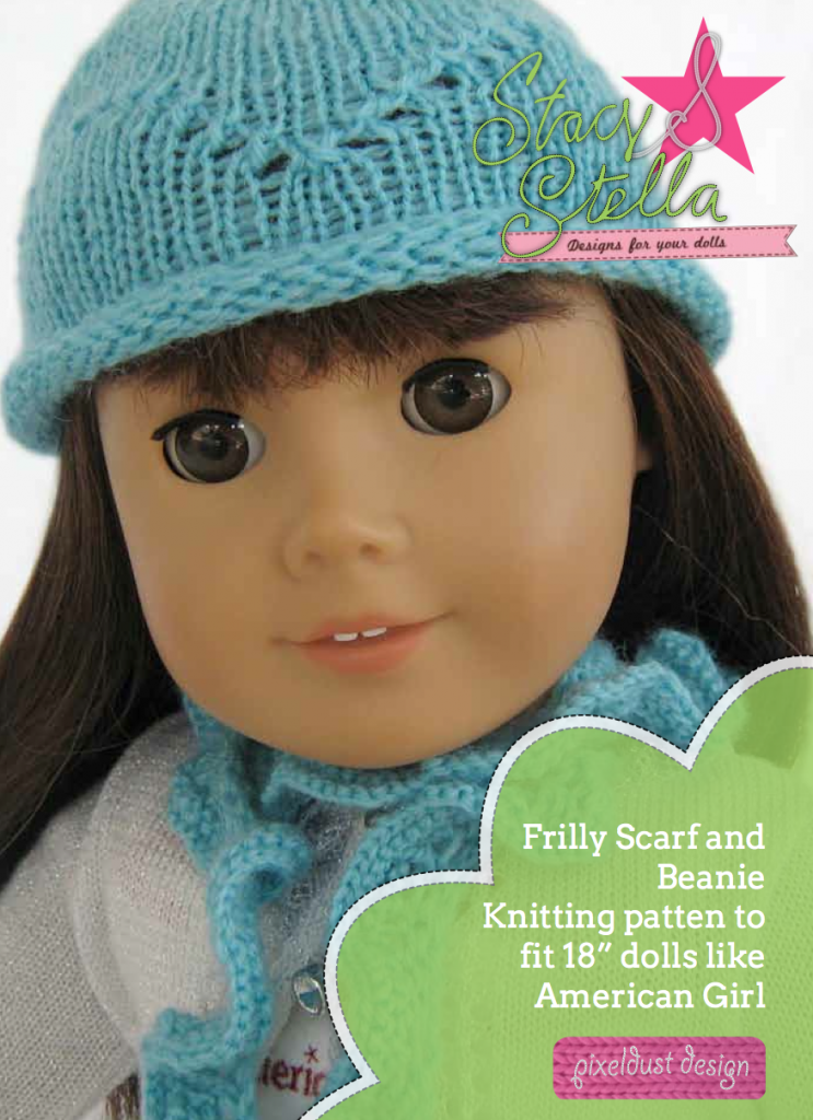 Beanie And Scarf Knitting Pattern Pdf Download Pixie Faire