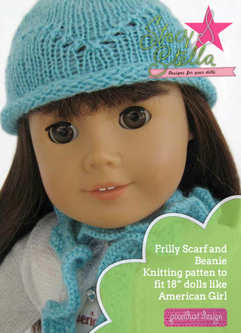 Beanie and Scarf Knitting Pattern