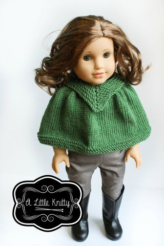 Kristin Cape Knitting Pattern
