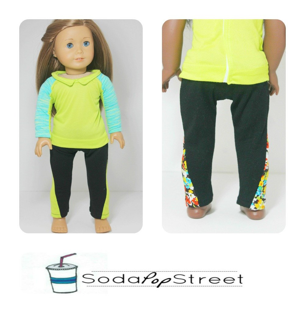 Soda Pop Street Lola Leggings Doll Clothes Pattern 18 inch ...