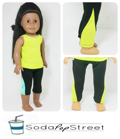 "The Lola Leggings 18"" Doll Clothes"