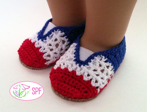Lola Crocheted Oxfords and Slip-ons Crochet Pattern
