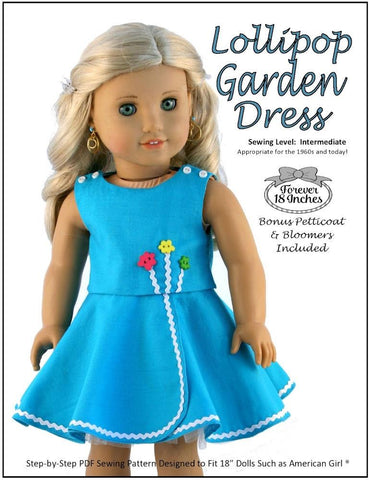 "Lollipop Garden Dress 18"" Doll Clothes"