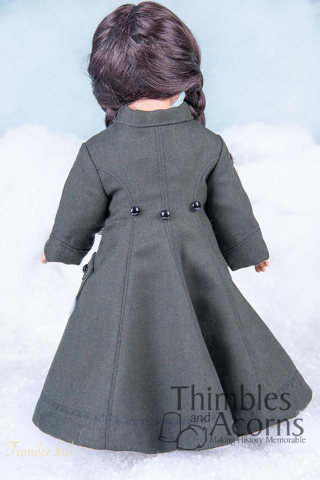 """Doll Clothes fits 18/"""" American Girl Navy Blue Hoodie Jacket Boy DETAILED!"""