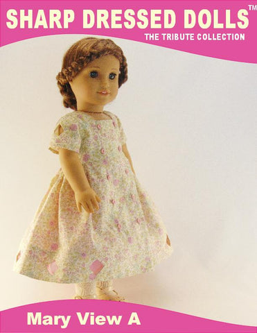 "The Mary Dress 18"" Doll Clothes"