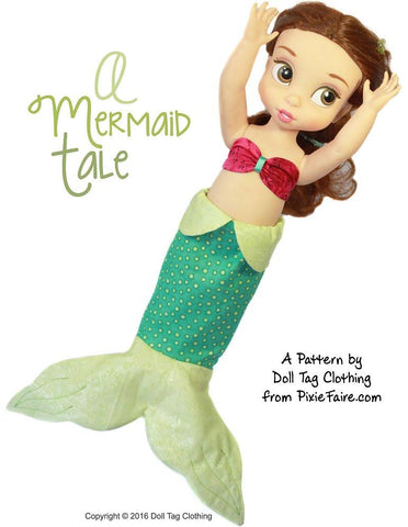 A Mermaid Tale for Disney Animator Dolls