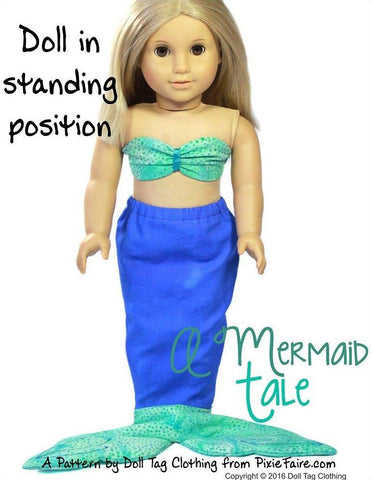 "A Mermaid Tale 18"" Doll Clothes"