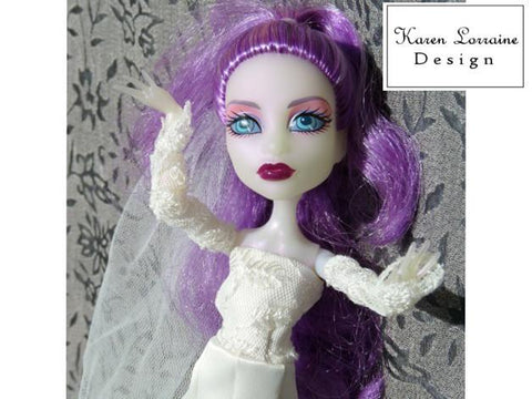 At the Castle Pattern for Monster High Dolls