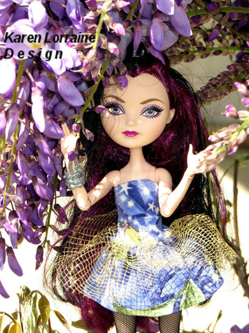 Overskirt Package Pattern for Ever After High Dolls