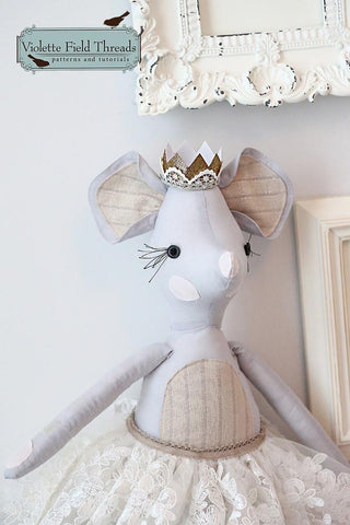 "Milly Mouse 18"" Animal Doll"