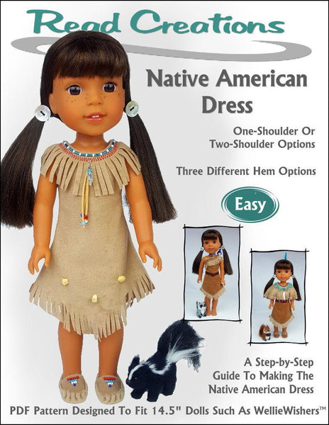 ReadCreations Native American Dress Doll Clothes Pattern ...