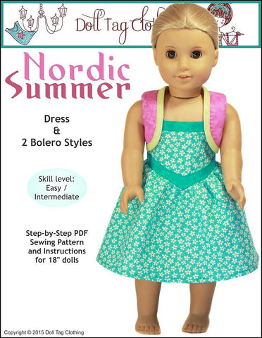 "Nordic Summer 18"" Doll Clothes"