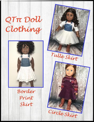 "Oh My Gosh Skirtall 18"" Doll Clothes Pattern"