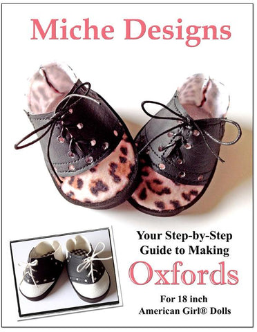 "Oxfords 18"" Doll Shoes"